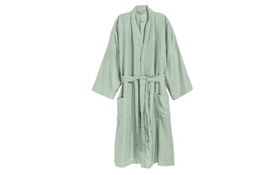 This Unisex Linen Robe Is Exactly