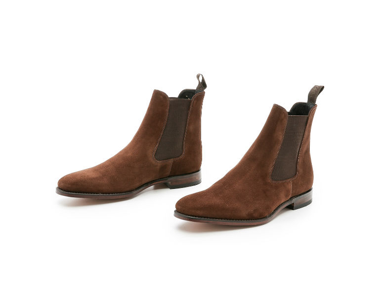 Brown Suede Mitchum Chelsea Boots