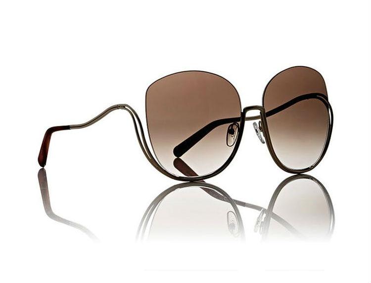 milla oversize sunglasses chloe