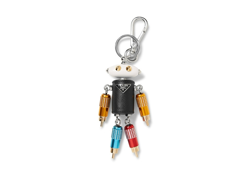 This Prada Keychain is Modeled After