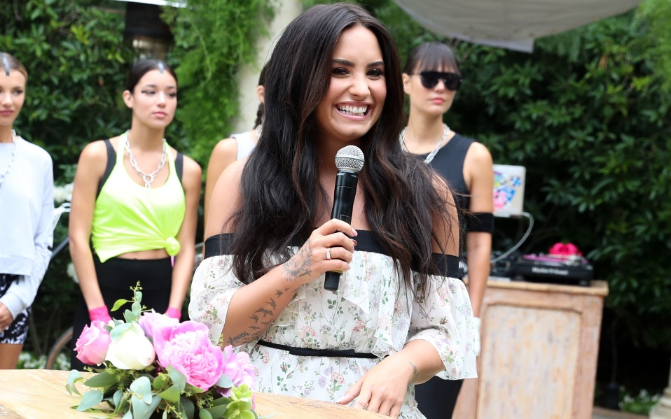 Demi Lovato Teams With Fabletics For