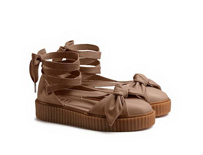 The Fenty x Puma Sandals are a Twist on