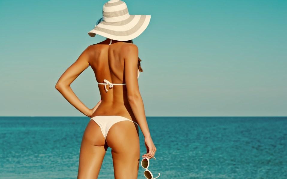 woman bikini