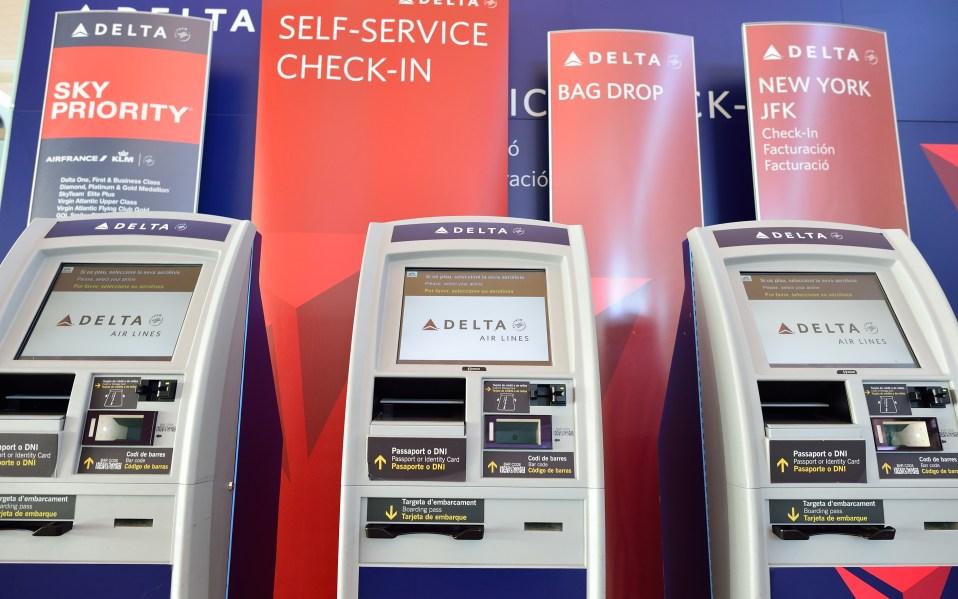 delta airlines self service