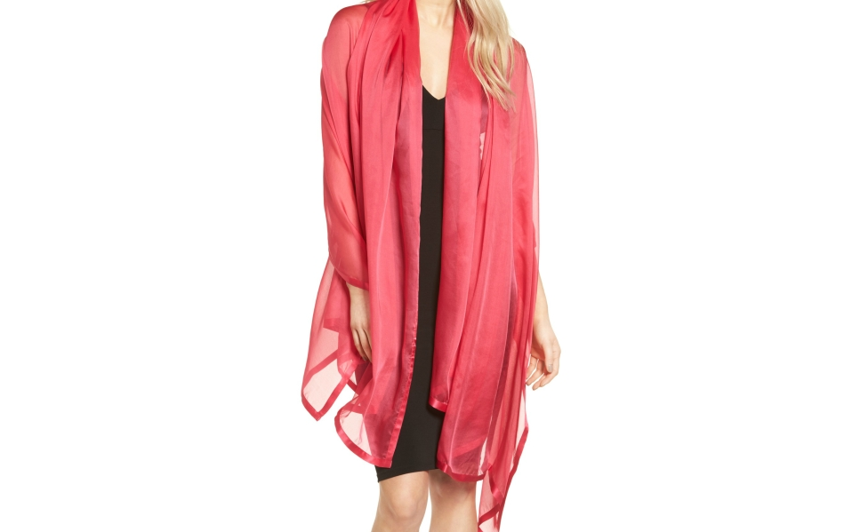 This Silk Shoulder Wrap is the