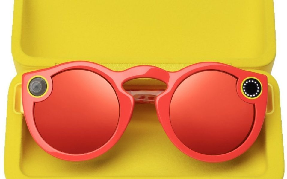 Snapchat Spectacles in Coral for Summer