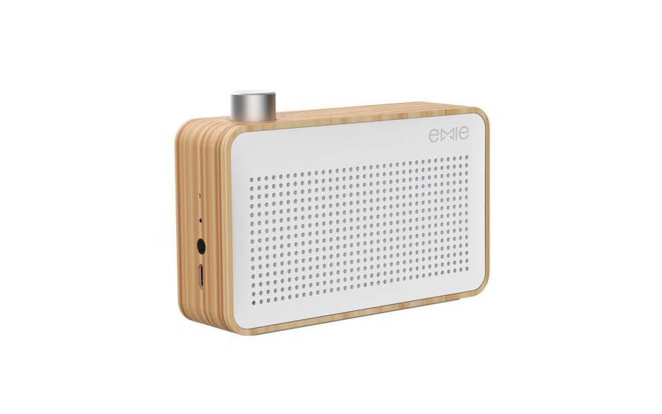 EMIE Minimalist Portable Bluetooth Speaker