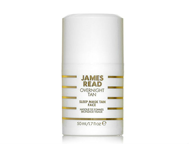 James Read Sleep Mask Tan Face