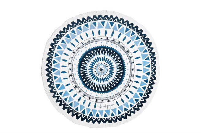 The Beach People Majorelle Roundie Towel