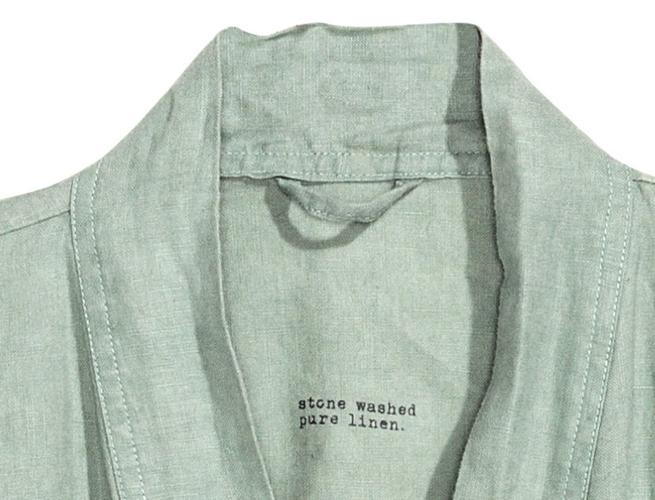 Unisex Linen Robe