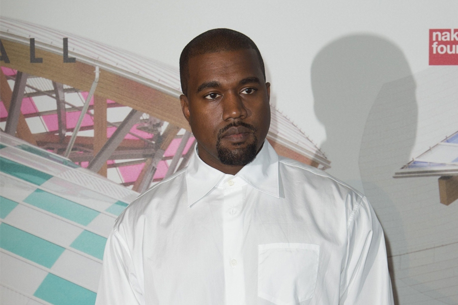 Kanye West Wore Another Designer's Shoes
