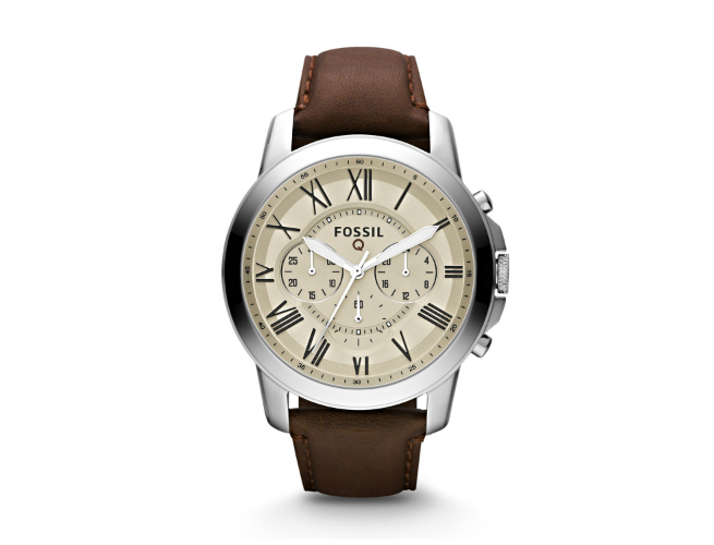 A Dumb Looking Smartwatch: Fossil's Q