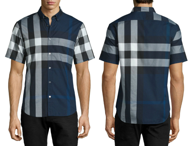 A Luxe Checkered Shirt From Burberry