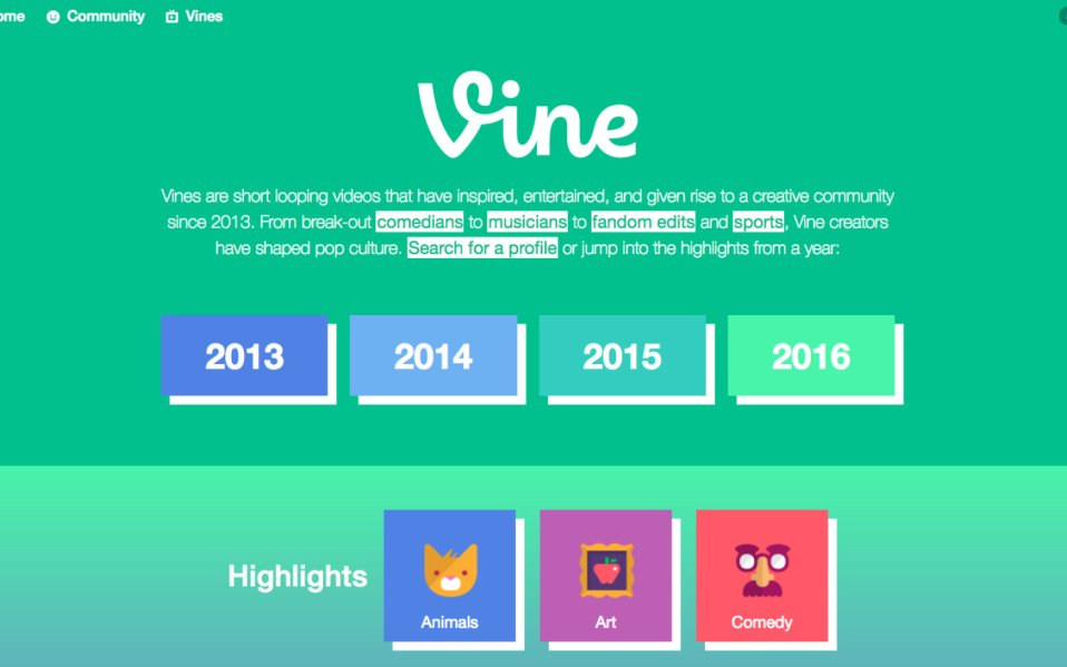 Vine Bug May Have Exposed Users'
