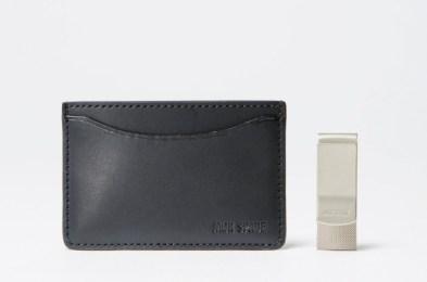 Jack Spade Credit Card Holder & Money Clip Gift Set