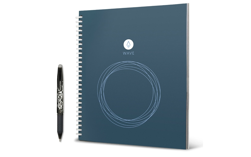 The Rocketbook Wave Smart Notebook is