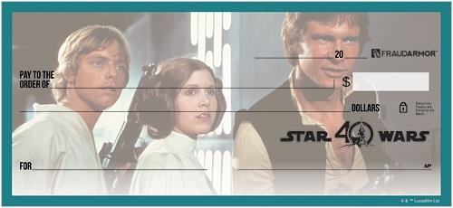 Star Wars™ 40th Anniversary Checks