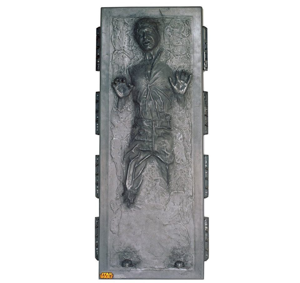 Han Solo in Carbonite Life Size Cardboard Standup