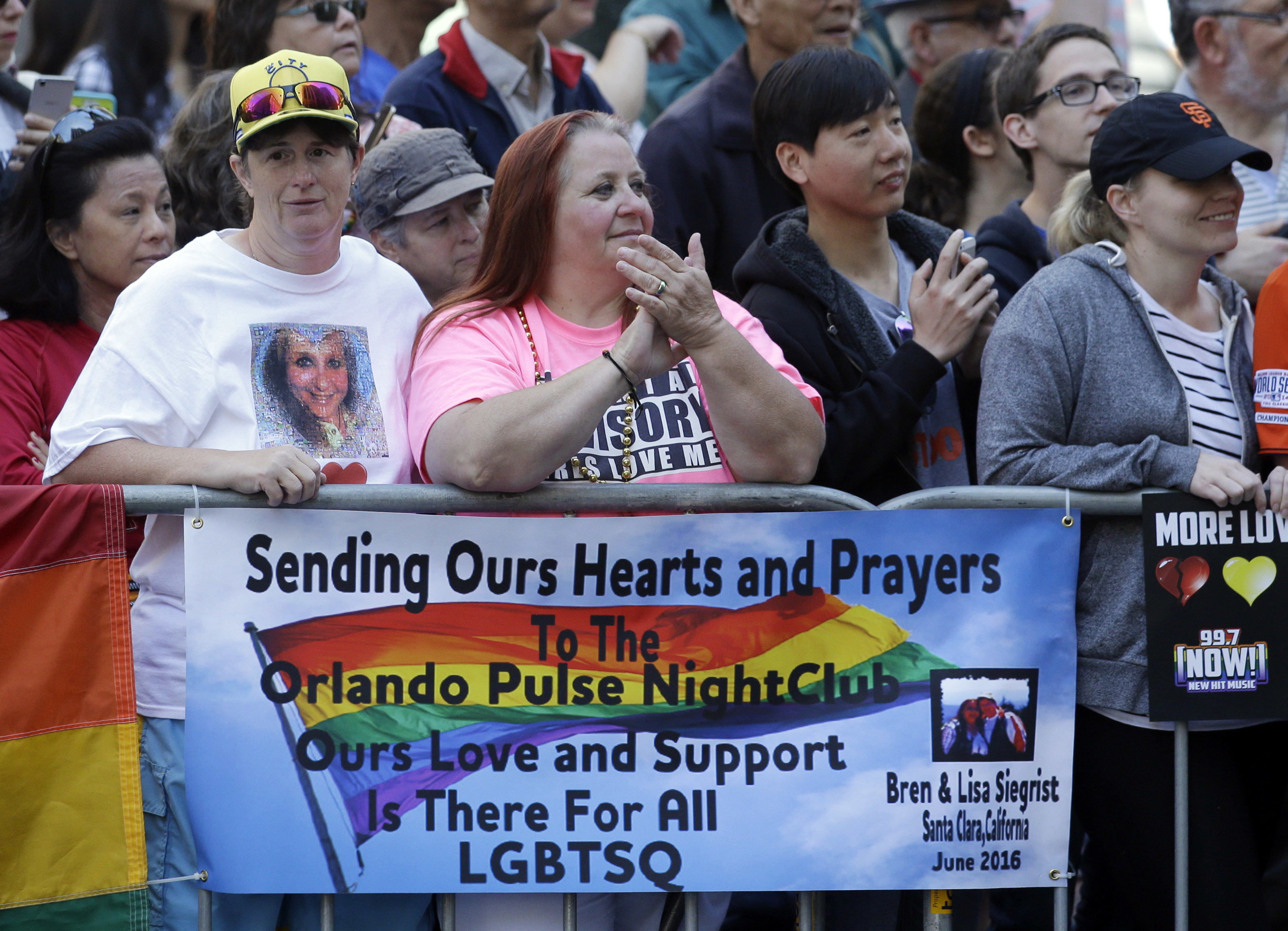 Gay Pride Parades, San Francisco, USA - 26 Jun 2016