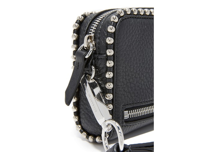 Alexander Wang Studded leather wristlet