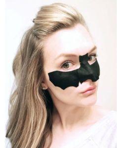 Peach & Lily Bat Eye Mask