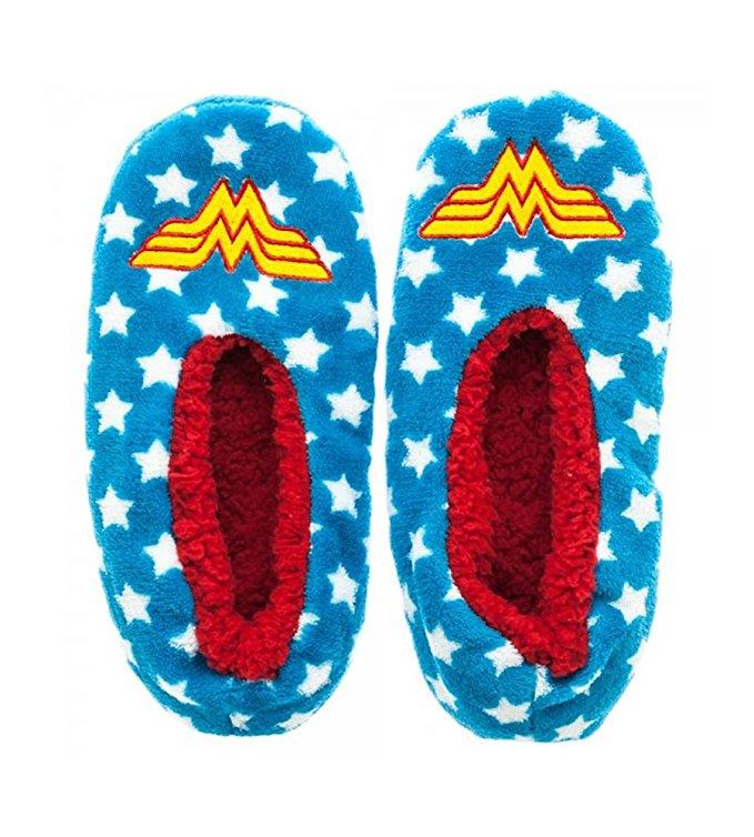 DC Comics Wonder Woman Cozy Slipper Socks