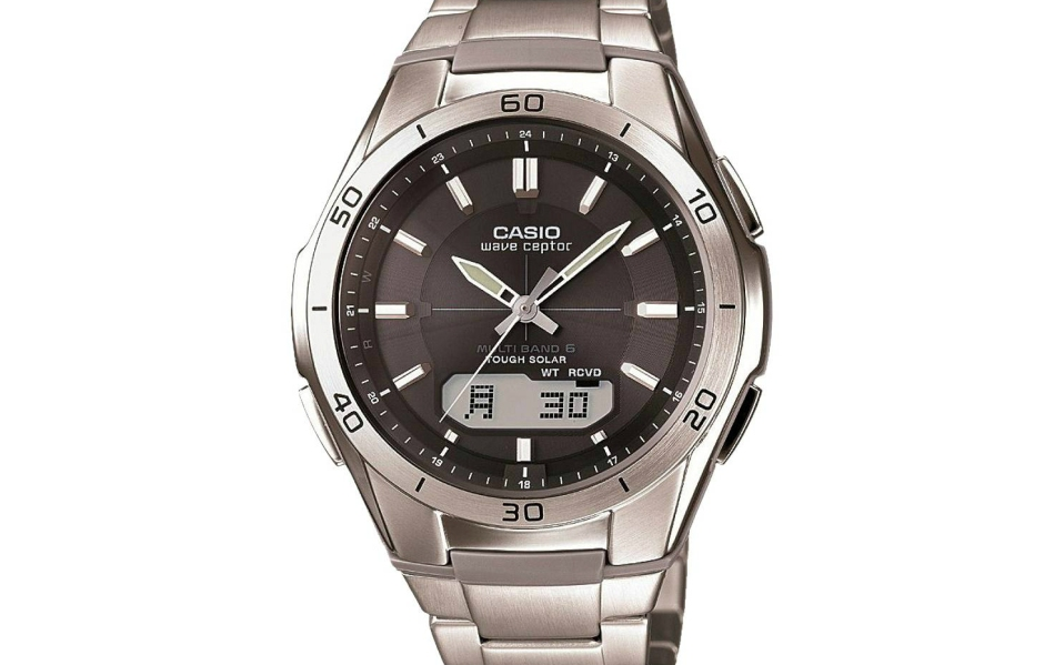 Casio Solar Atomic Watch Utilizes New