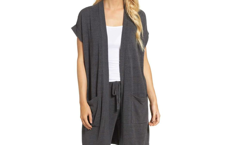 cozychic lounge cardigan barefoot dreams