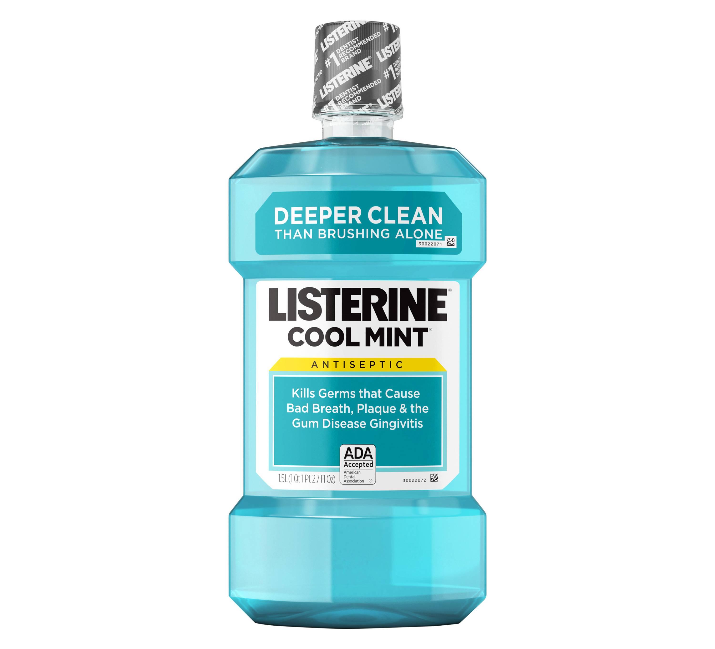Listerine® Cool Mint® Antiseptic Mouthwash
