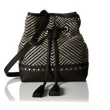 drawstring chevron stripe backpack lucky brand