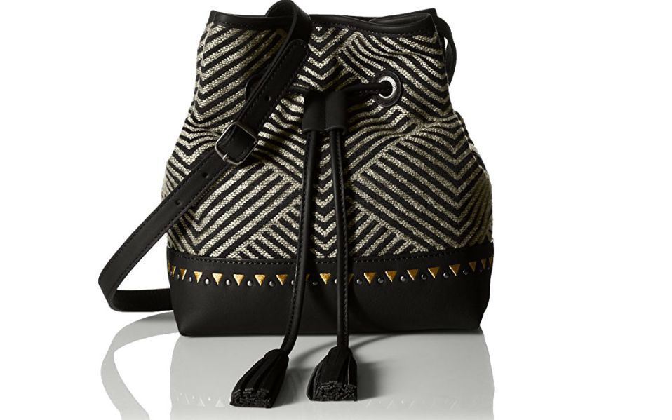 drawstring chevron stripe backpack lucky brand