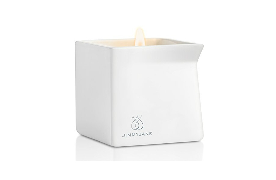 This Massage Candle Will Instantly Set