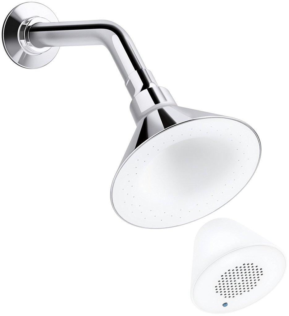 kohler shower head speaker