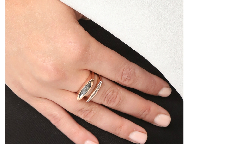 This Rebecca Minkoff Ring is Accented