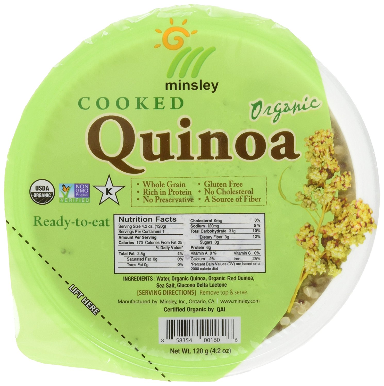 Minsley Cooked Organic Quinoa