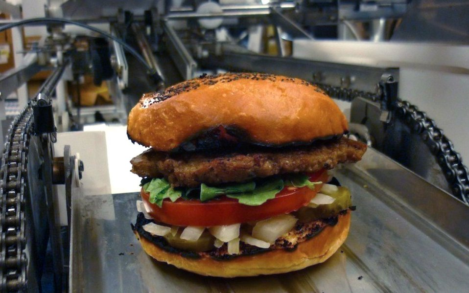 momentum machines burger robot