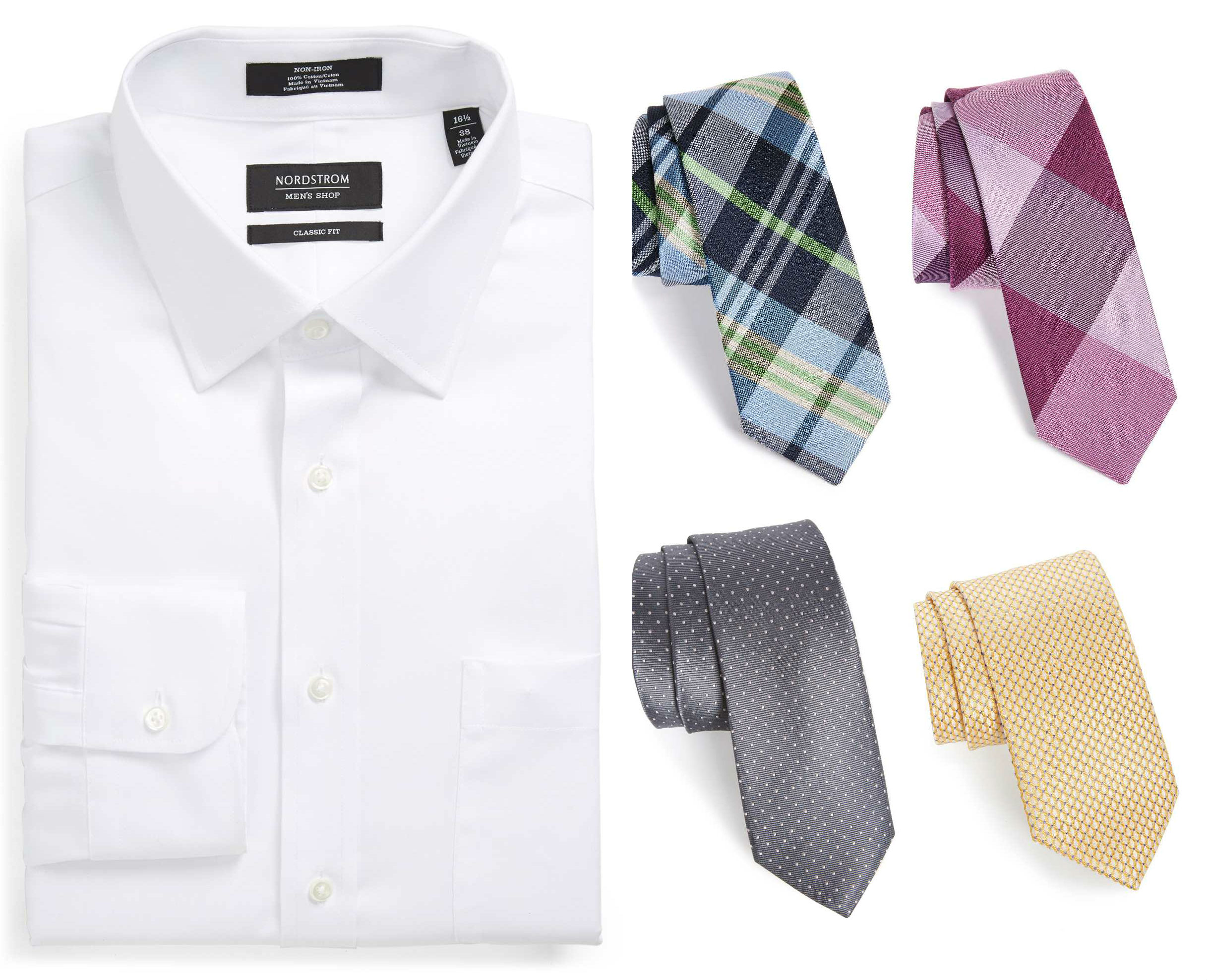 nordstrom men shirt tie