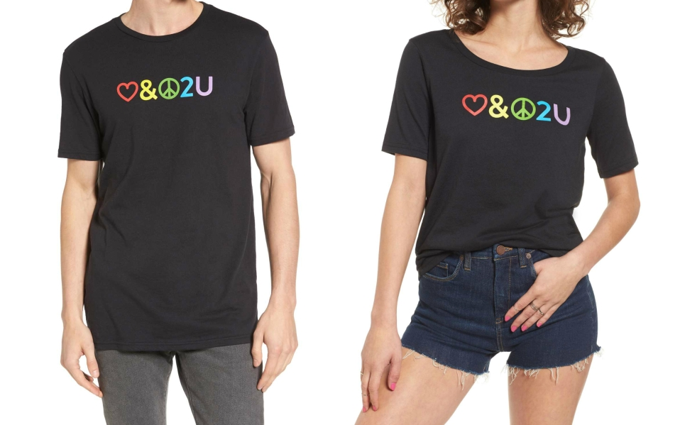 Nordstrom Launches Pride T-Shirt for Pride