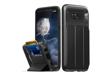 Vena Galaxy S8+ Flip Leather Cover