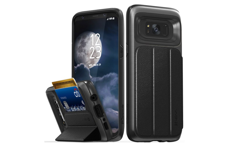 Galaxy S8+ case Vena flip cover