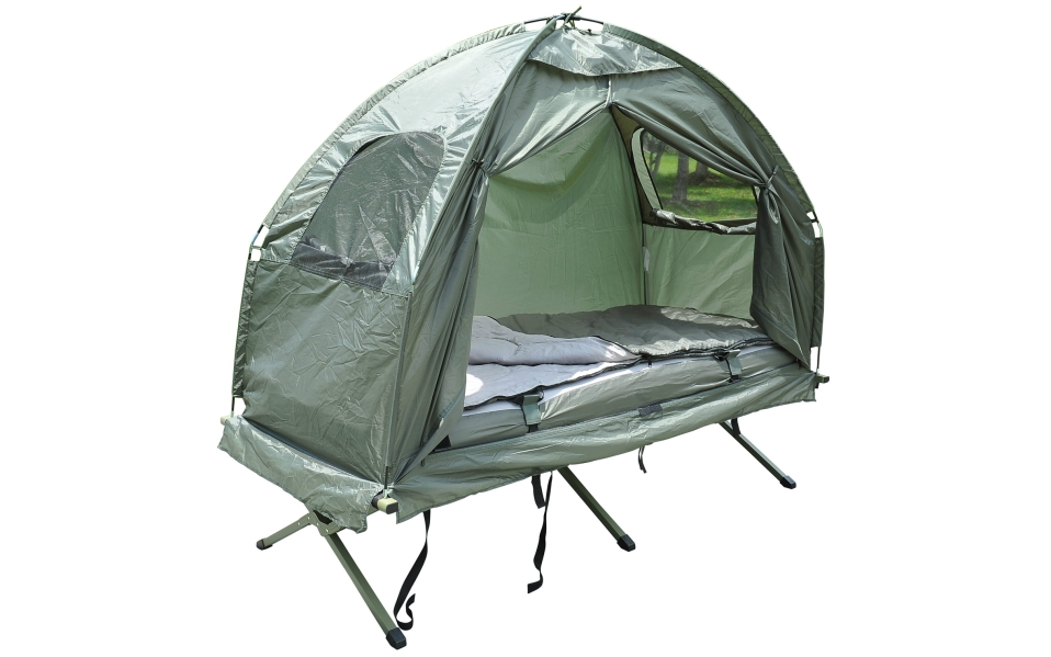 This Pop Up Tent Cot Is