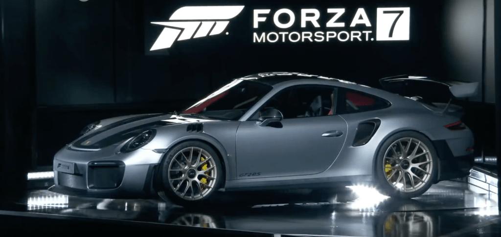 Porsche 911 forza E3