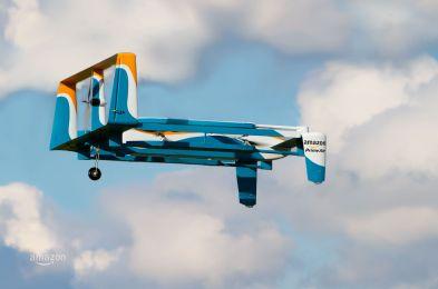 Amazon Prime Air future delivery system - 30 Nov 2015
