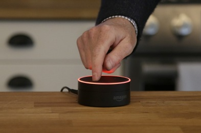 Amazon Echoing the Echo, San Francisco, USA