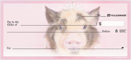rachaelhale® Pigs Checks