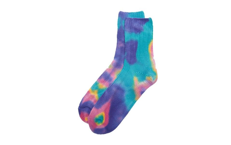 Anonymous Ism Tie Dye Socks