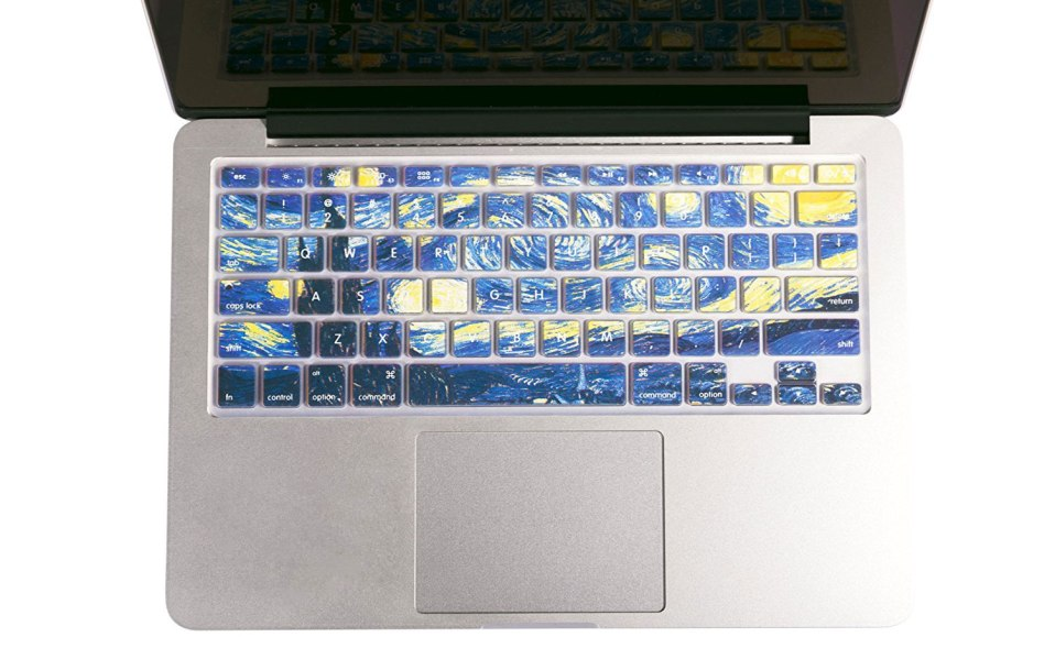 keyboard cover Macbook Van Gogh Starry