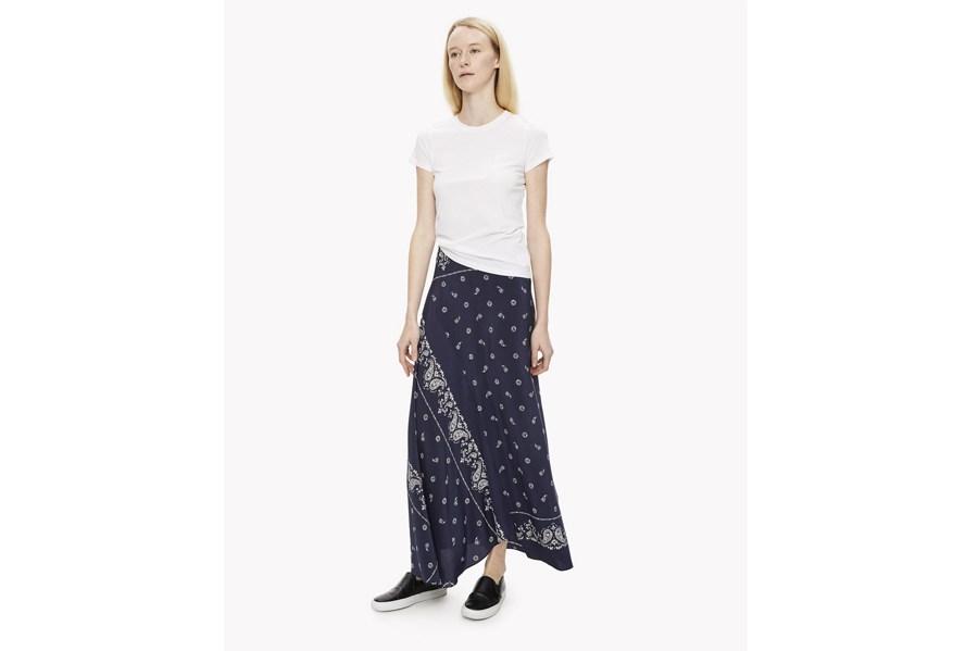 Theory Bandana Skirt