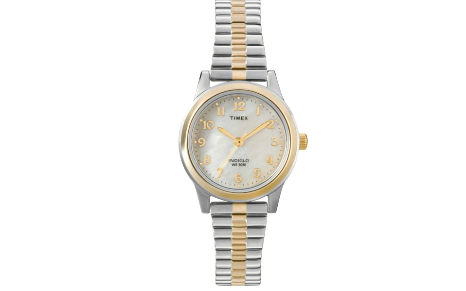 This Timex Gold and Silver Watch