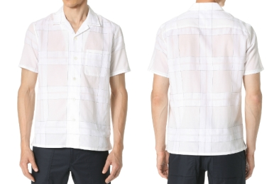 Theory Havana Camp-Collar Check Shirt